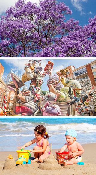 Туристический сезон в Валенсии