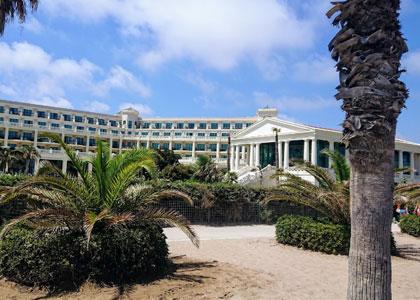 У пляжа Cabanyal