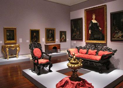 В музее изящных искусств