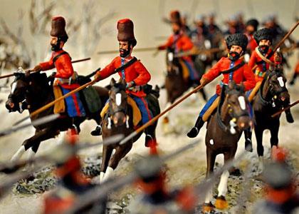В музее оловянных солдатиков