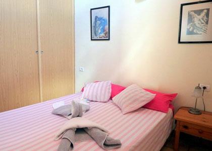 В спальне Casa Ventura