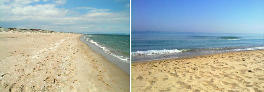 Валенсия пляж Девеса