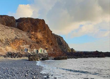 Вид на пляж Burrero