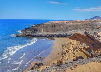 Вид на пляж Ла Пелада