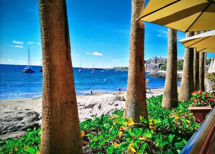 Вид на пляж Паталавака