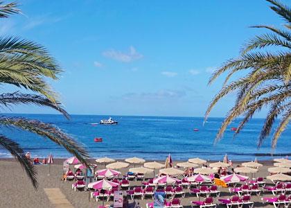 Вид на пляж Таурито