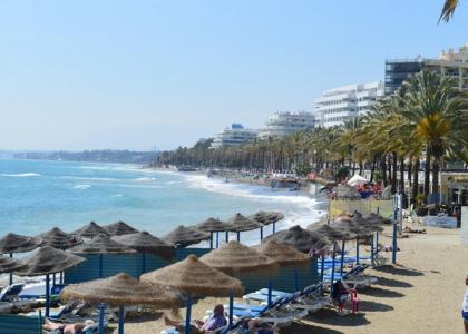 Вид на пляж дел Фаро