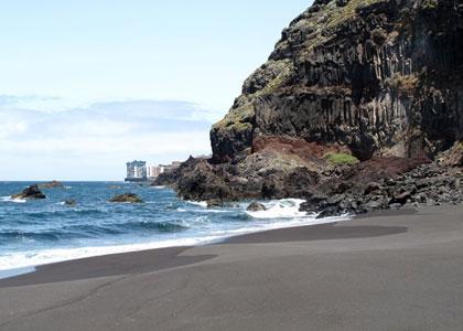 Вид на пляже la garañona