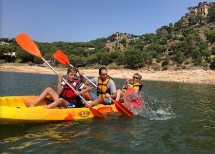 Водный спорт в Pantano de San Juan