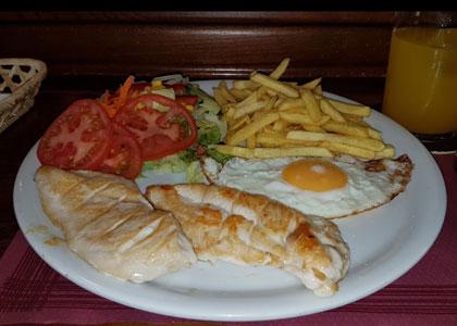 блюдо в La Huerta de los Cristales