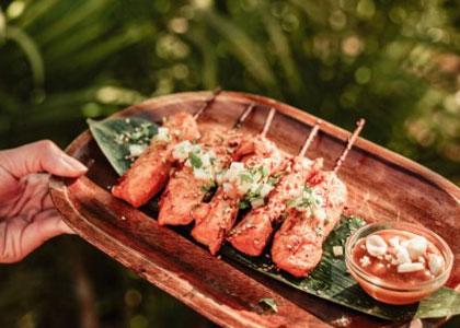 блюдо в Ombu