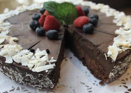десерт в Cafe de Ronda