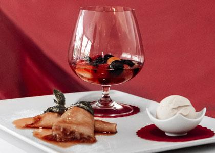 десерт в D-Wine