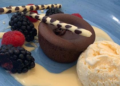 десерт в La Cabane