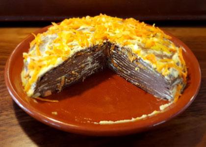 десерт в La Huerta de los Cristales