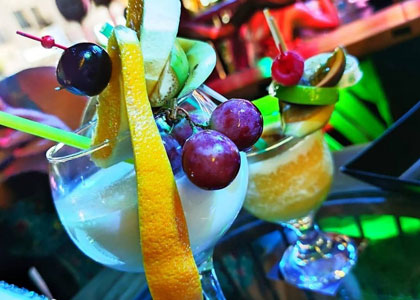 коктейль в коктейль-баре Astral