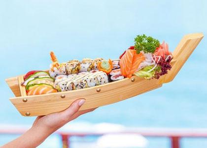 морепродукты в Ocean Club