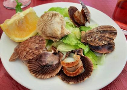 морепродукты в Restaurante la Escollera