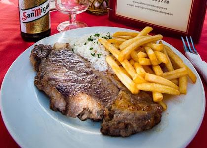 мясо в Los Naranjos