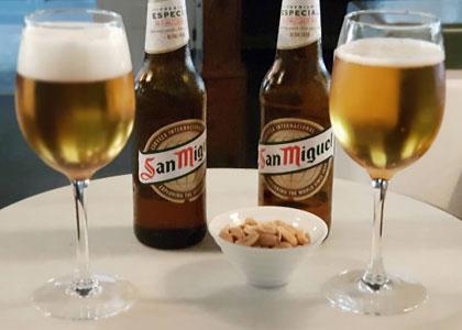 пиво в баре Sinatra