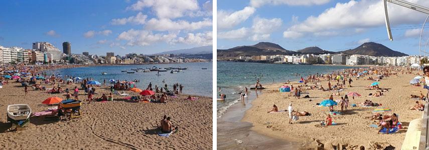 пляж Лас-Кантерас