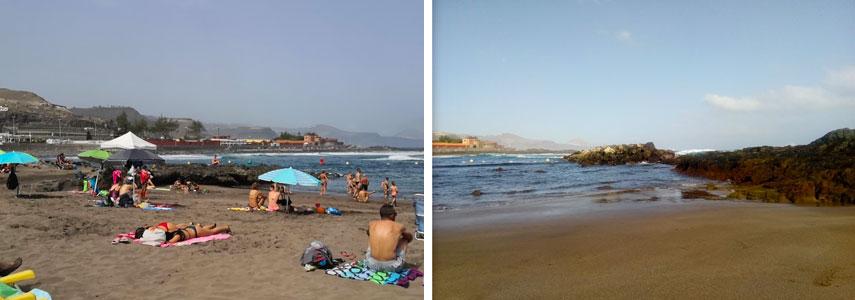 пляж в Лас Пальмас Пуэртилло