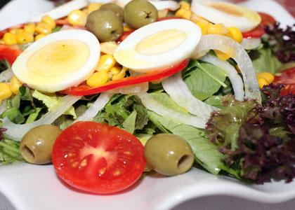 салат в Asador Tehuelche Grill Argentino