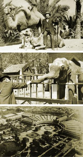 История зоопарка Барселоны
