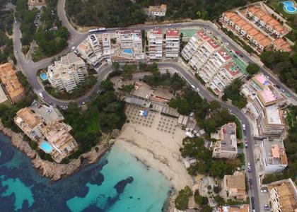 Вид на пляж Пладжа Де Ильтес