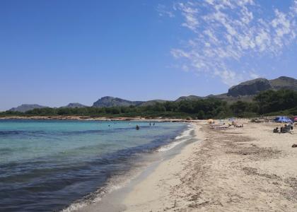 Пляж Son Serra de Marina