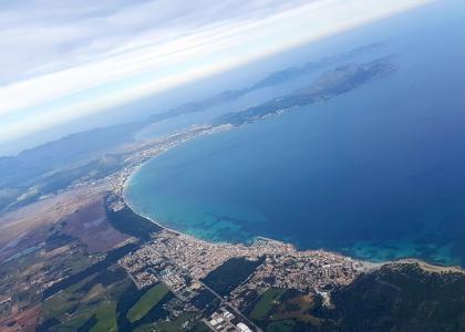Вид на Son Serra de Marina