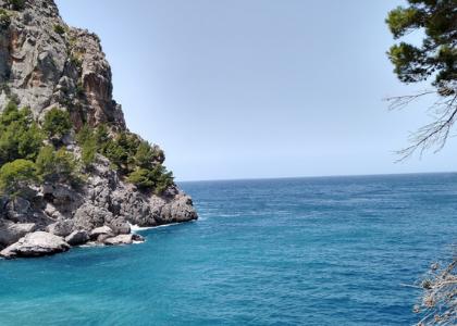 Море Пляж Sa Calobra