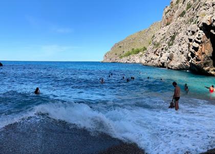 Torrent de Pareis волны