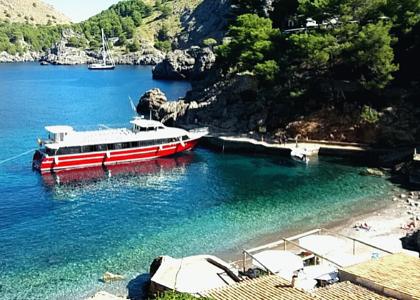 Круизный порт Sa Calobra