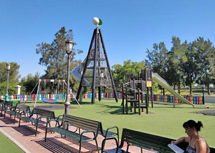 Детская площадка в Parque la Bateria