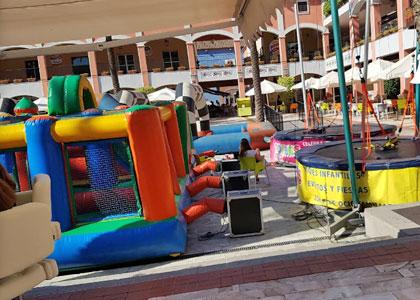 Детская площадка в Plaza Mayor