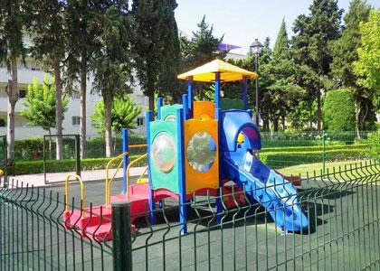 Детская площадка в районе Золотая миля