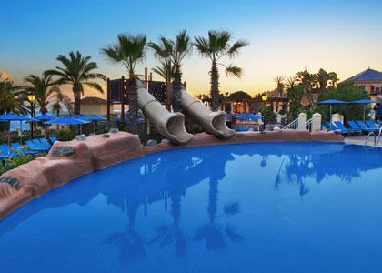Детский бассейн в Marriott's Marbella Beach Resort