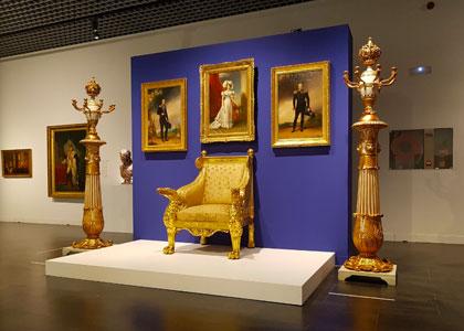 Экспозиция в русском музее