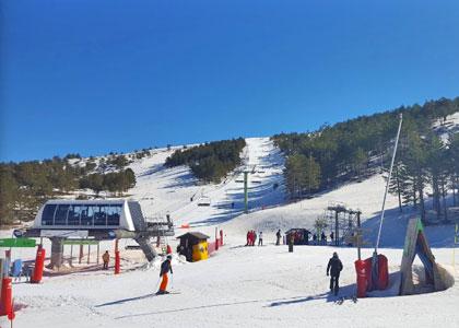 Горнолыжный курорт Хаваламбре лыжи в Испании