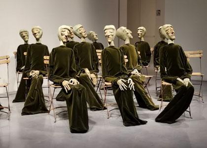 Инсталляция в центре Помпиду