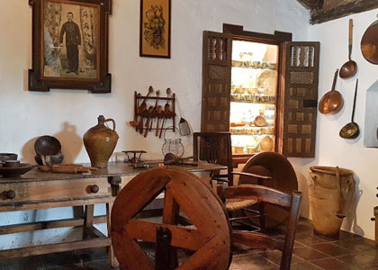 Интерьер в музее искусств и народных традиций
