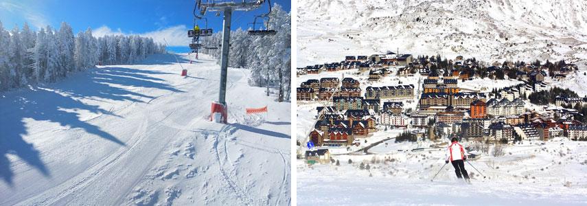 Курорт для горнолыжников Вальделинарес