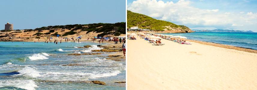 Дикий пляж Эс-Каваллет
