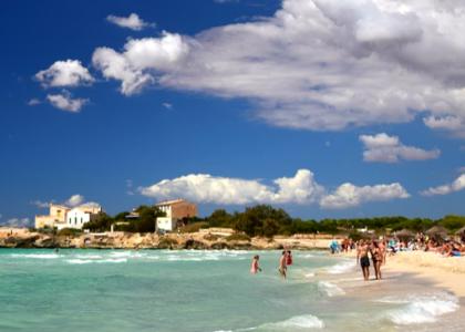 Море Пляж Эс-Тренк