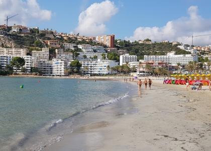 Море Пляж Санта-Понса