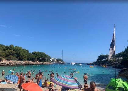Море и пляж Бухта Кала-Гран