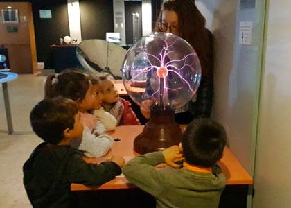 Опыты в Centro de Ciencia Principia