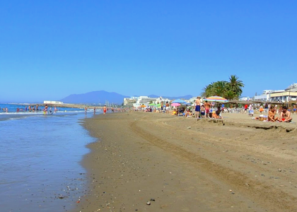Песок на берегу Эль Кабле