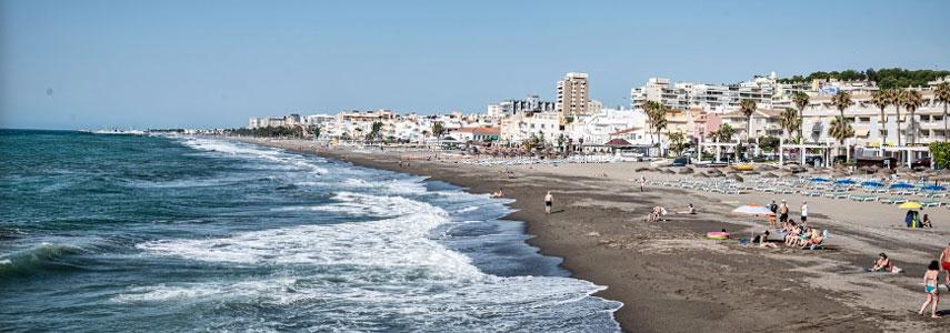 пляж Кариуэлья марбелья